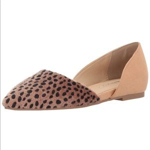CL by Chinese Laundry Cheetah D'Orsay Flat